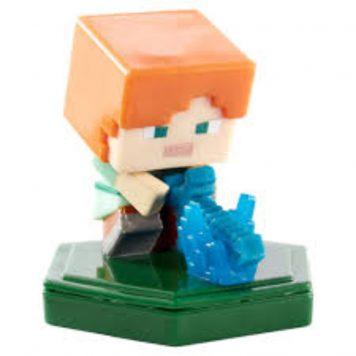 Minecraft Earth mini Attacking Alex